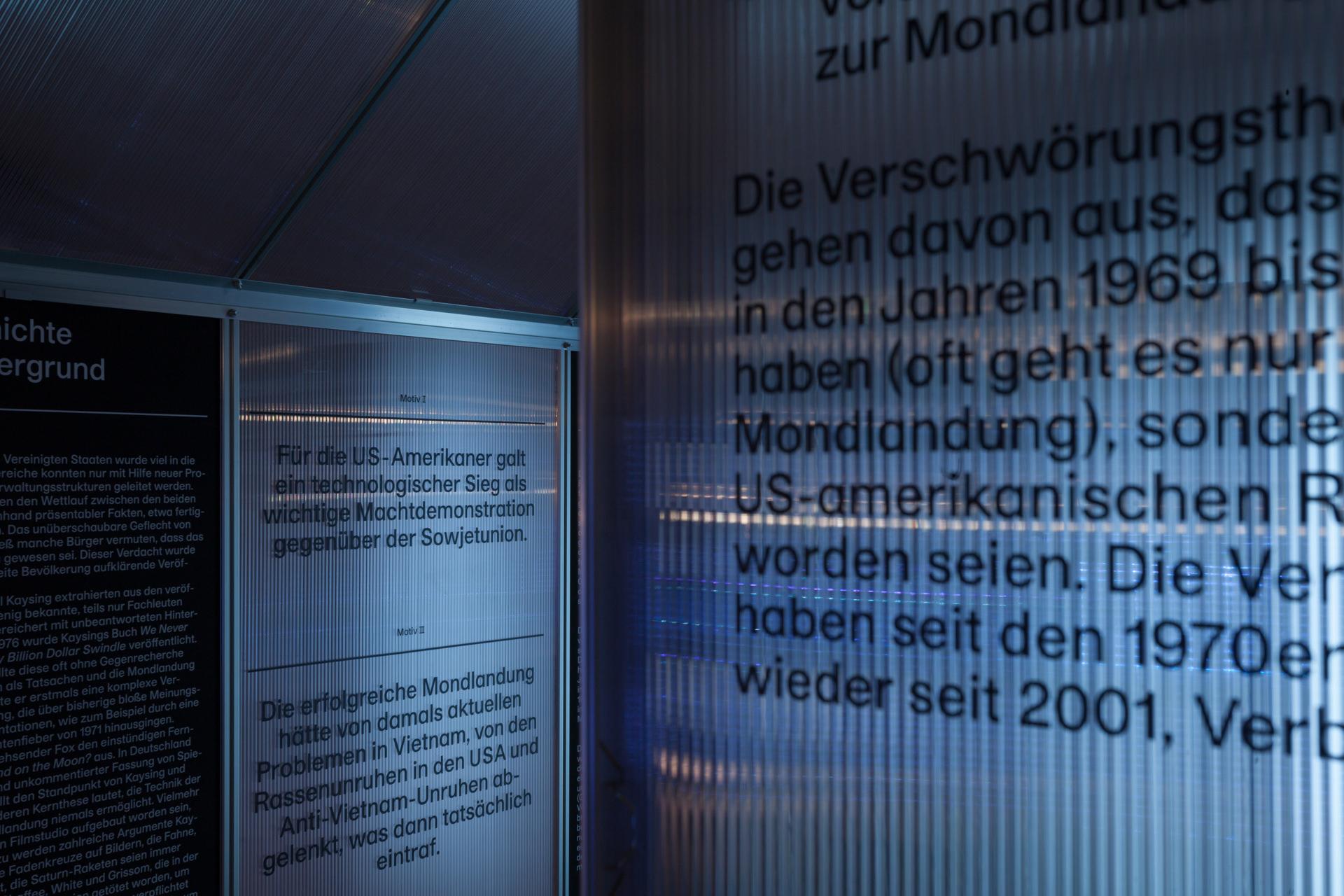 Gewächshaus als Highlight der Ausstellung