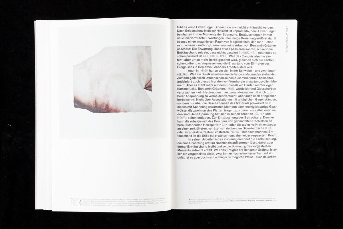 Arbeit von Benjamin Graebner aus der Publikation »Ohne Zucker« der Klasse von Professor Reto Boller an der Kunstakademie Stuttgart