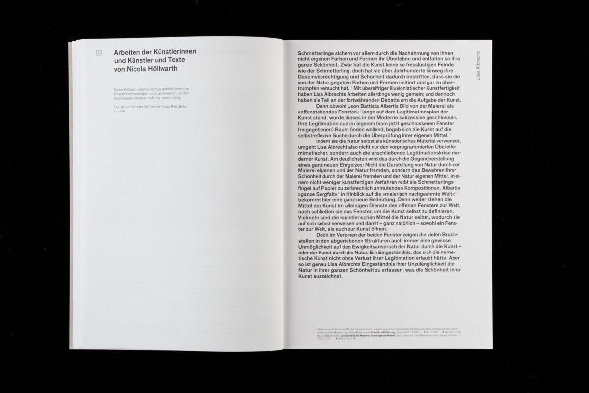 Einleitungstext der Publikation »Ohne Zucker« von Nicola Höllwarth