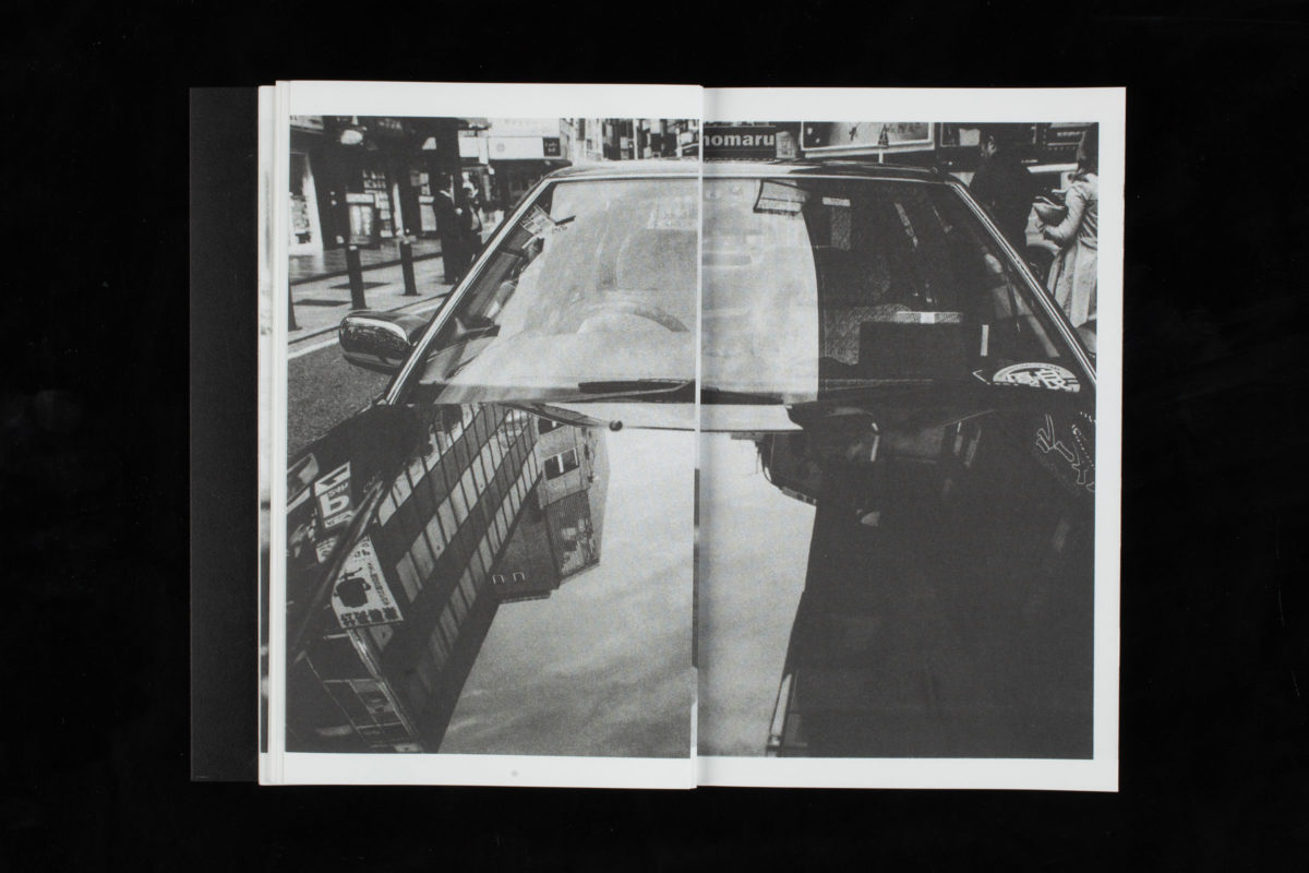 Publikationsgestaltung »Strangers Taking Taxis In Tokyo«