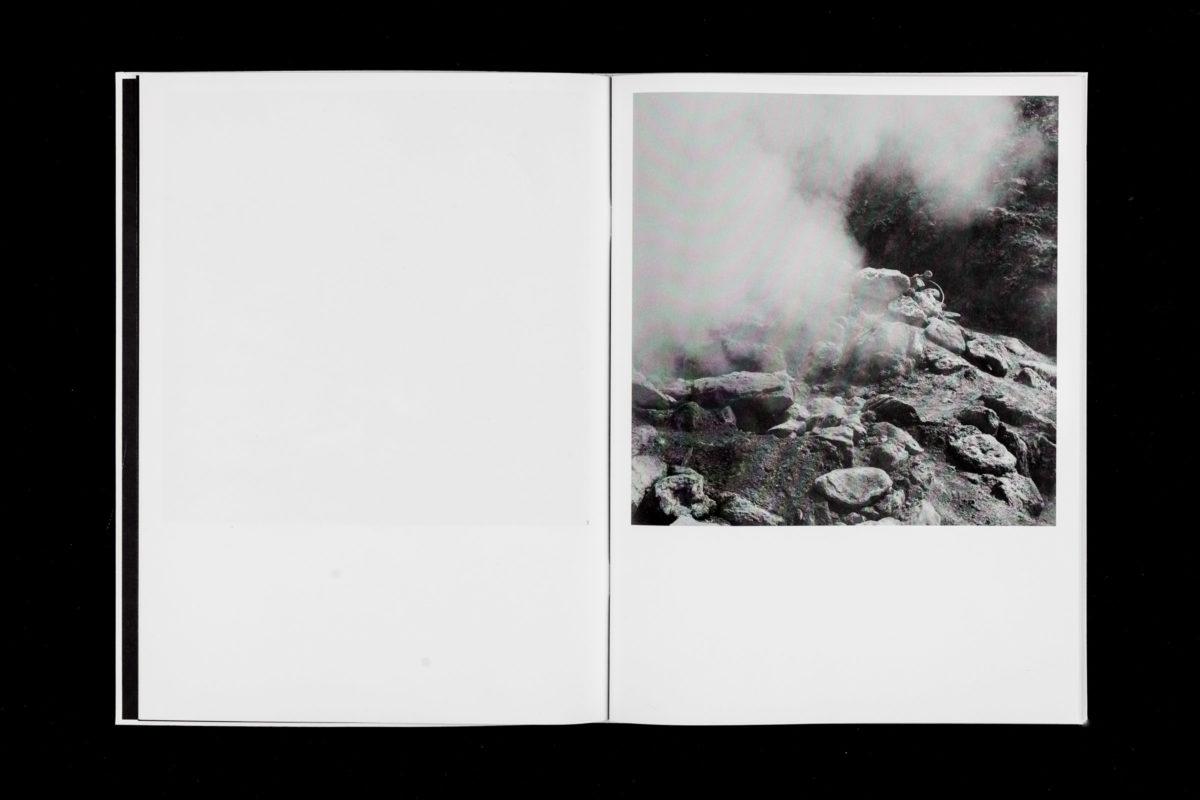 Doppelseite von Ann-Kathrin Müllers Arbeit Szenarien Unter Freiem Himmel.