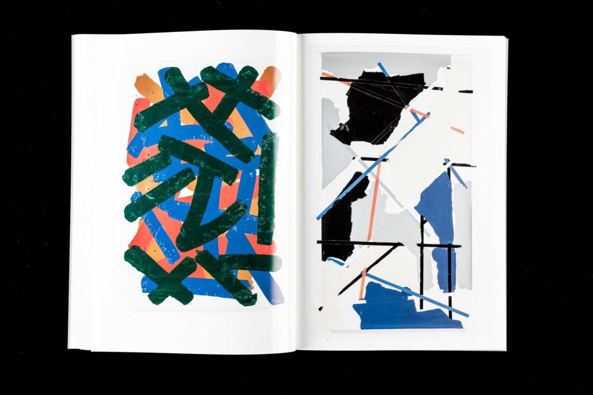 Collage des Stuttgarter Künstler Simon Herkner, Bestandteil des Katalogs »Ohne Zucker«, 2016