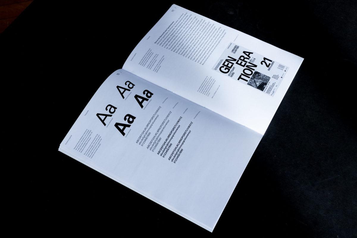 Typografische Erläuterungen für das Städtebau Institut der Uni Stuttgart.