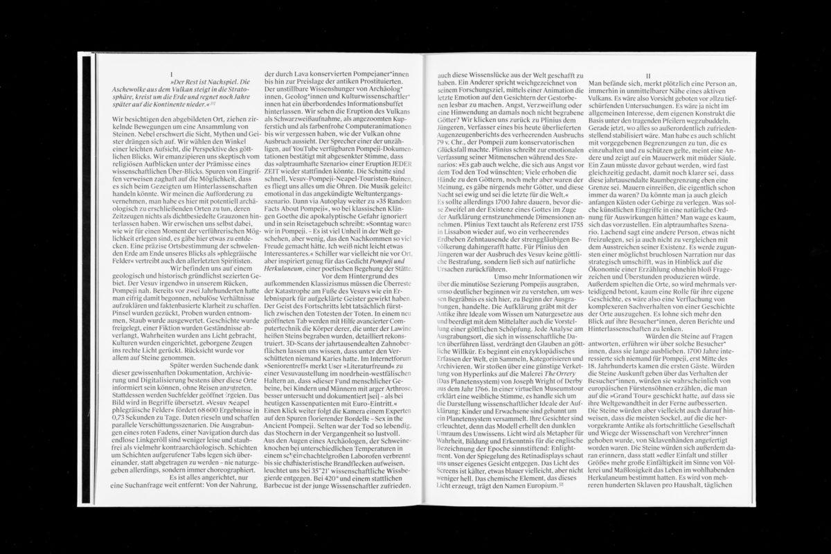 Der Rest ist Nachspiel, ein Text von Judith Engel aus »Szenarien Unter Freiem Himmel« von Ann-Kathrin Müller