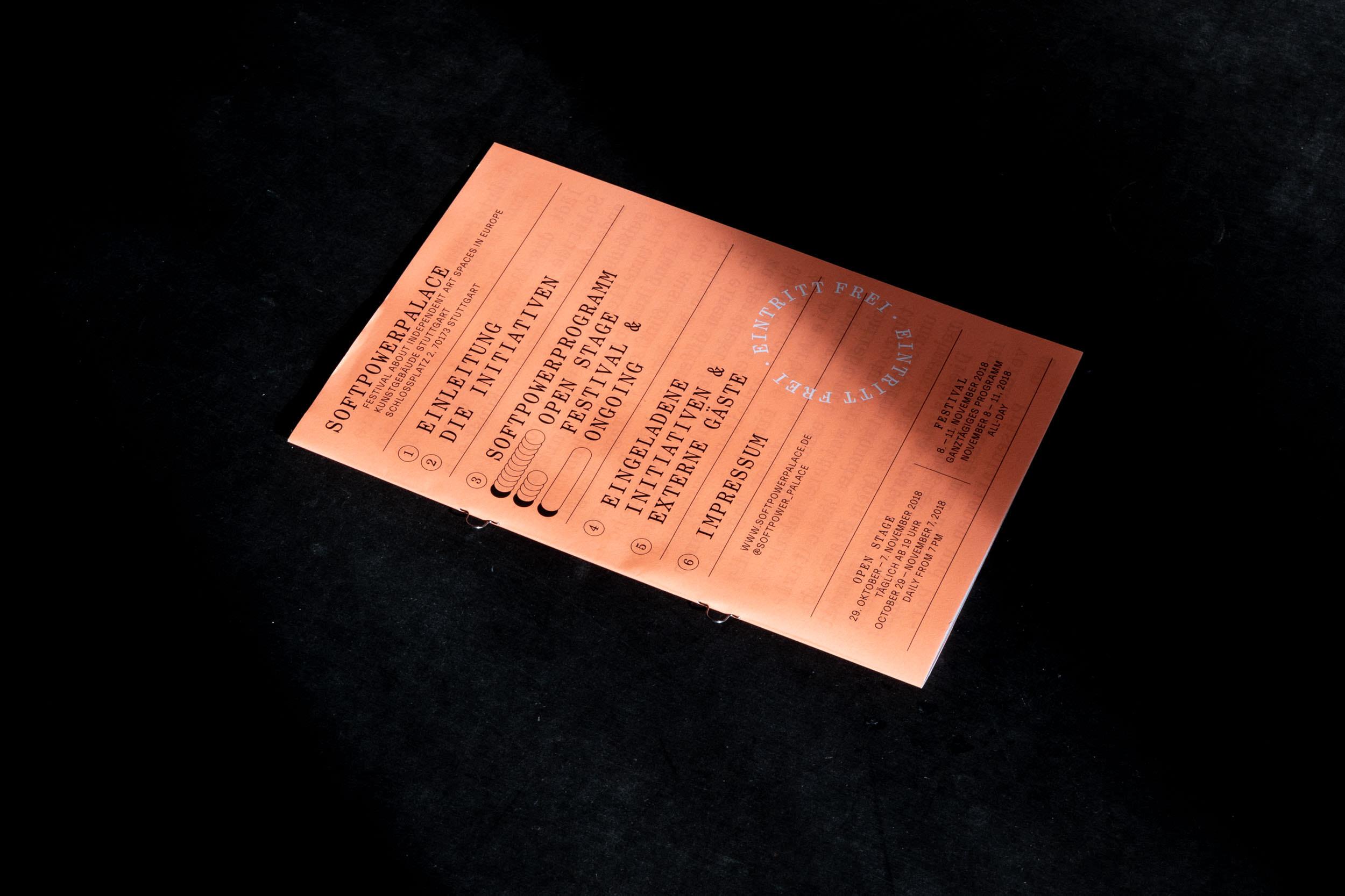 Titelseite der Programmbroschüre