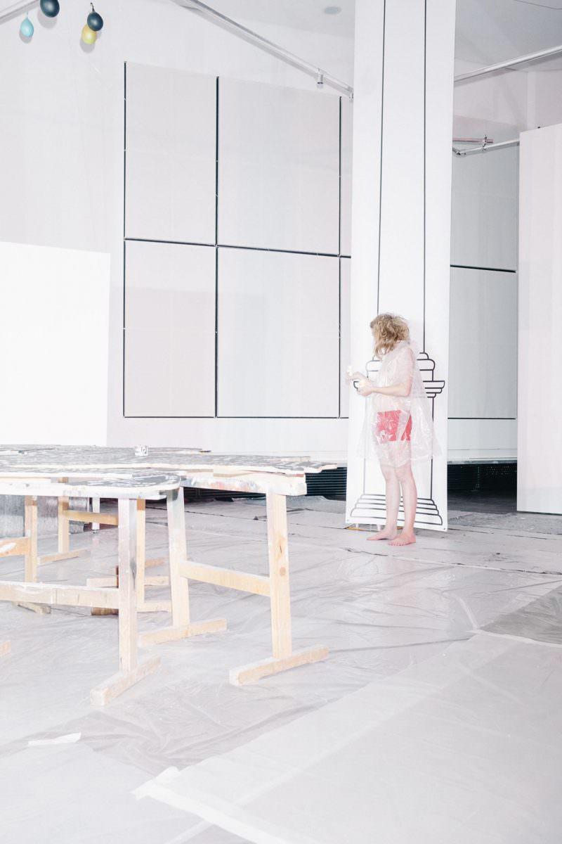 Performance während des Soft Power Palace im Kunstgebäude Stuttgart.