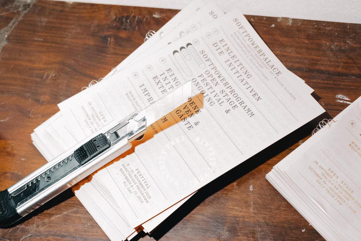 Work in Progress: Programmheft und Magazine für den SPP.
